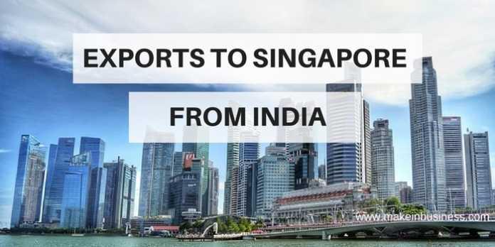 india's export to singapore