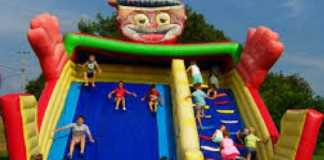 big bounce house