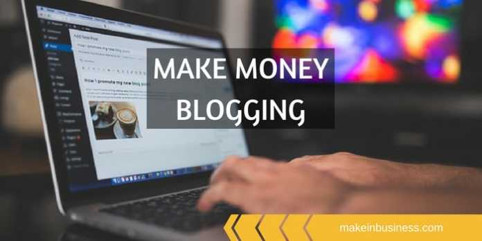 learn how to make money from blog
