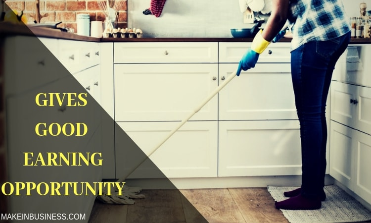 you can also start home cleaning service in just 100 dollar