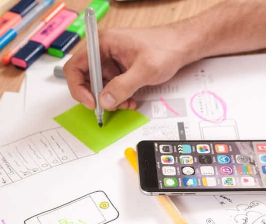 a picture of mobile app marketing analytics