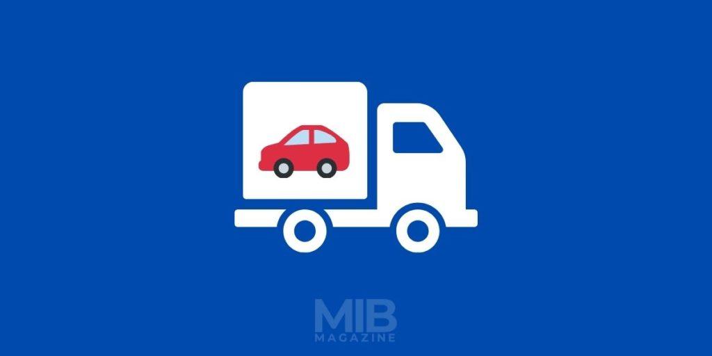 1 car hauling in dually truck